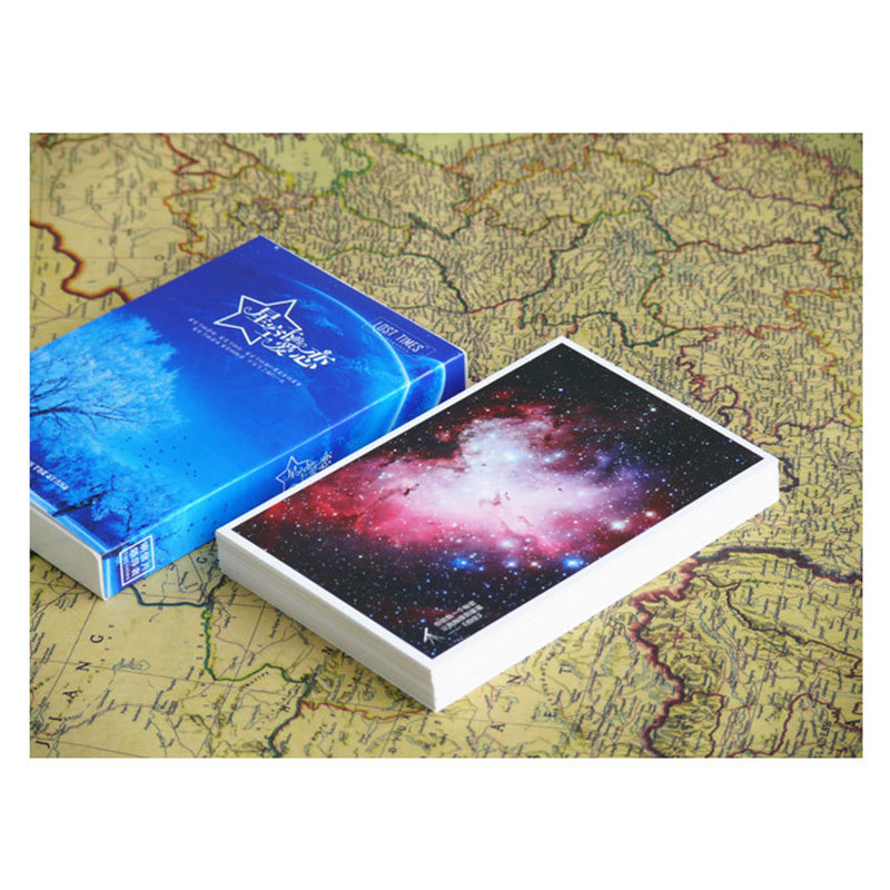30 Sheets/Set Love Under The Stars Postcard/Greeting Card/Wish Card/Christmas And New Year Gifts Cards