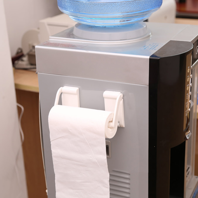 Kitchen Paper Fresh Keeping Film Magnetic Towel Holder For Toilet Kitchens Refrigerator Rack Hanger Plastic