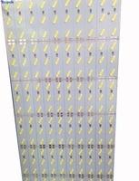 100PCS 1m Led Rigid Strip 8520 72 Led Bar Light Korea Chip 12V SMD 8520 Cold White Led Hard Rigid Strip