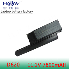 7800mAh Laptop Battery For Dell Latitude D620 D630 D631 M2300 KD491 KD492 KD494 KD495 NT379 PC764 PC765 PD685 RD300 TC030 hsw 7800mah laptop battery for dell latitude d620 d630 d631 m2300 kd491 kd492 kd494 kd495 nt379 pc764 pc765 pd685 rd300 tc030