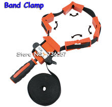clamps for woodworking Multifunction belt Quick Adjustable Band Clamp Polygonal clip 90 Degrees Right Angle Corner Photo Frame(China)