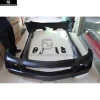R171 SLK55 AMG style Car body kit FRP front bumper Rear bumper side skirts for Mercedes Benz R171 SLK200 SLK300 05-12