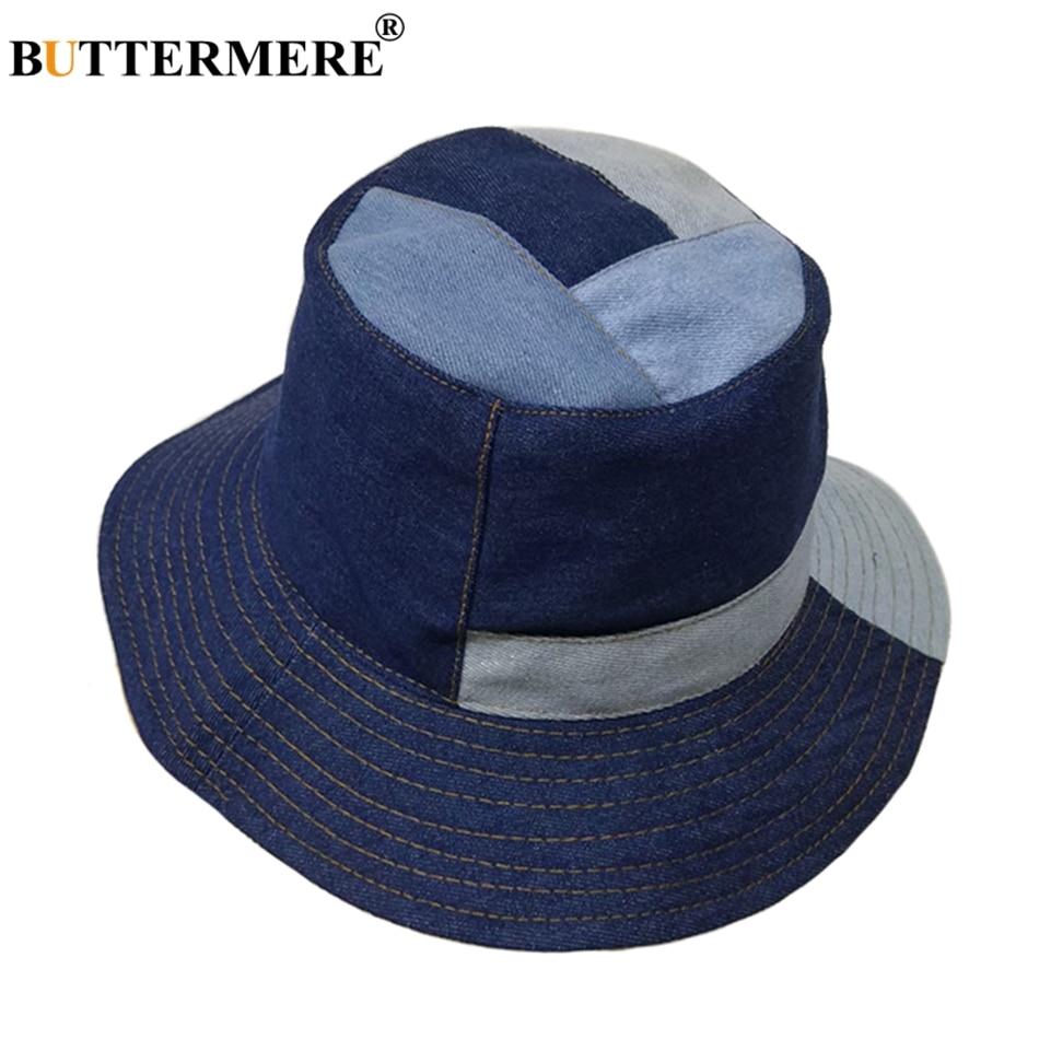 Features  Denim Bucket Hat   Navy Blue Fishing Caps   Autumn Bob Sun Hats b15132049ff