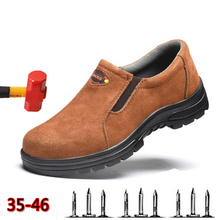 Summer Mountaineering Chuteira Breathable Mens Shoes Anti-mite Puncture Safety 2019 Non-slip Wear-resistant Work
