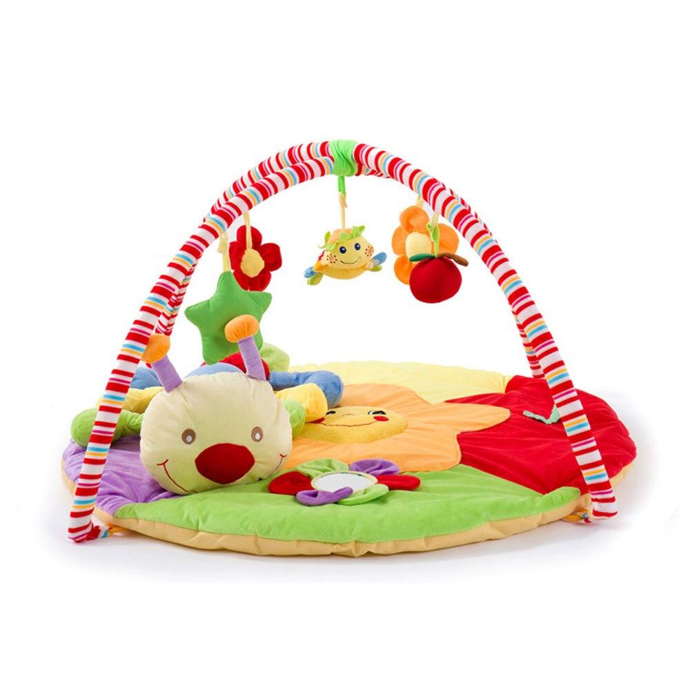Centre de Gym activité bébé tapis de jeu tapis Musical tapis enfant Caterpillar