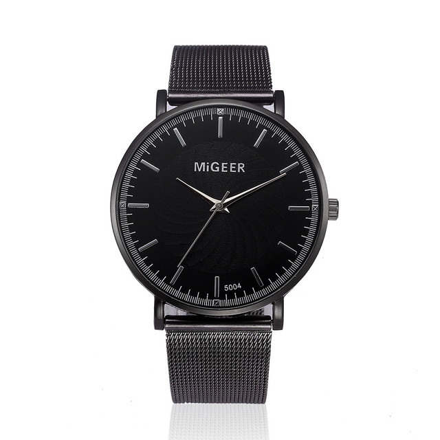 MIGEER Watch 2017 Fashion Luxury Watch Women Crystal Stainless Steel Analog Quar