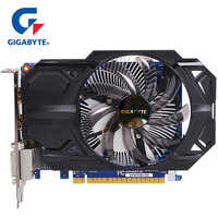GIGABYTE Graphics Card GTX 750 Ti with 2GB GDDR5 128 Bit NVIDIA GeForce gtx 750 ti GPU Video Card for PC Hdmi Dvi Used VGA Cards