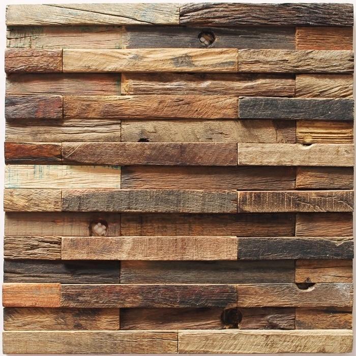 bande de mosaique en bois avec motif de metro 3d carreaux muraux texture de bois rustique decoration de bateau antique livraison gratuite