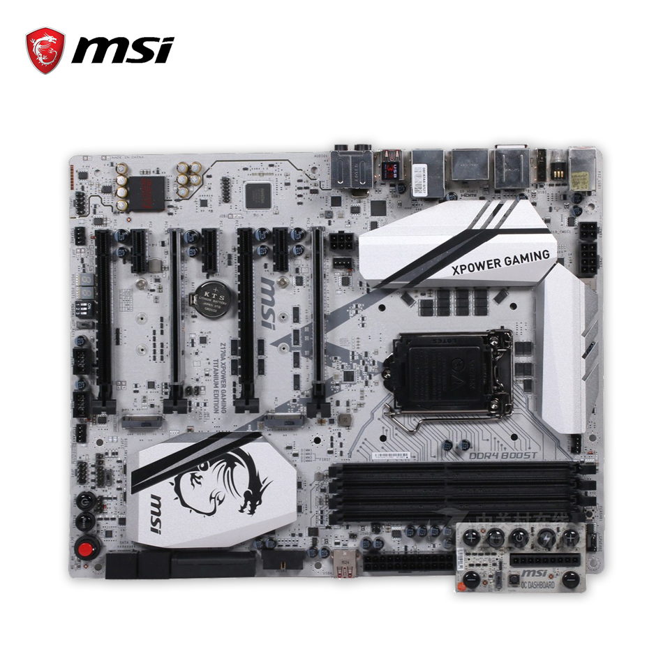 все цены на  MSI Z170A XPOWER GAMING TITANIUM EDITION Original Used Desktop Motherboard Z170 Socket LGA 1151 i3 i5 i7 ATX  онлайн