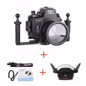 Underwater-Housing-Case Camera Diving-Equipment Waterproof-Bags Meikon for D750 W/fisheye