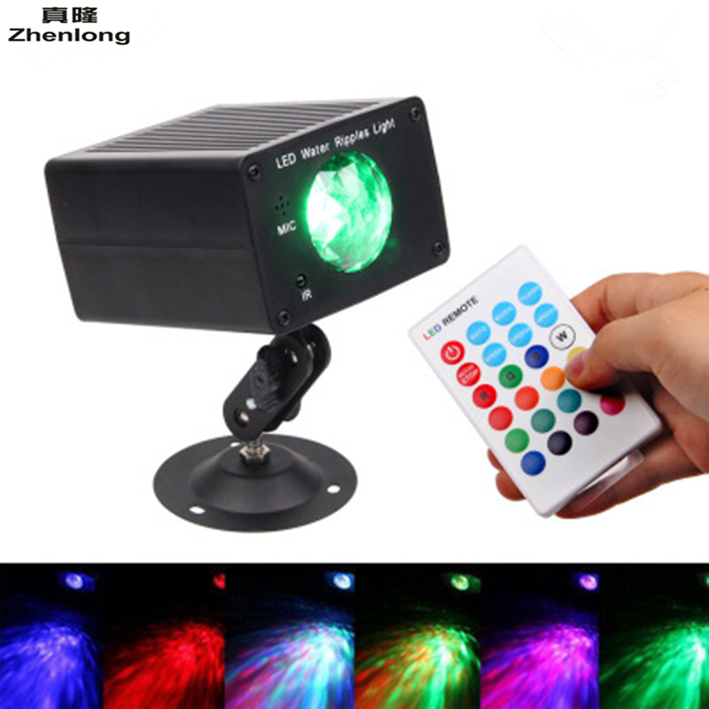 16 Color Remote Control LED Water Ripples Linght Marine Stage Light Dynamic Background Light Bar Wash Wall Holiday Lights фреза cmt 912 691 11
