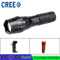 z30  Zoomable FlashlightLED XM L2 5000LM Light Torch hunting light bike CREE XM L2 Flashlight Rechargeable 18650 charger