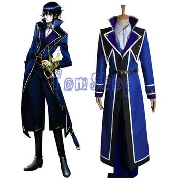 Anime K Munakata Reisi Cosplay Uniform Suit Full Set Halloween Men's Costumes Custom-made Any sizes Free shipping