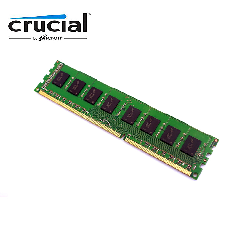 Crucial Desktop Memory RAM with 1GB/4GB/8GB Capacity and 1333MHz/1600MHz Memory Speed 2