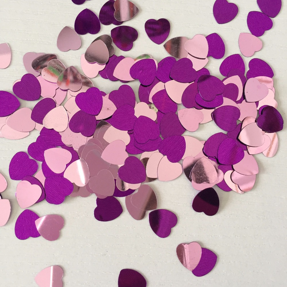 Violet lavender purple lilac wedding table decoration kits 1 cm PVC ...