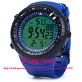 2016 30m Waterproo Top Multifunctional Male LED Sports Watch Rubber Band Watch With Alarm Clock Sports Gift  8335G