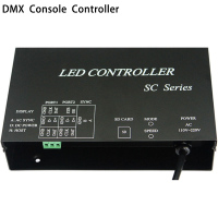 LED controller work with DMX512 console occupy 7 channels support dozens of chips WS2812 WS2811 controller strip controller