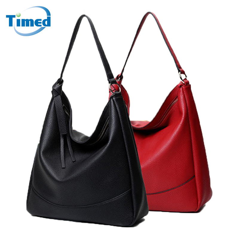 Newest 2016 Europe and American Style Women Brand Big Handbag Fashion All-match Women Shoulder Bags Quality Leather Lady Tote