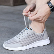 Men Or Woman Running Shoes Mesh Breathable Jogging Sneakers