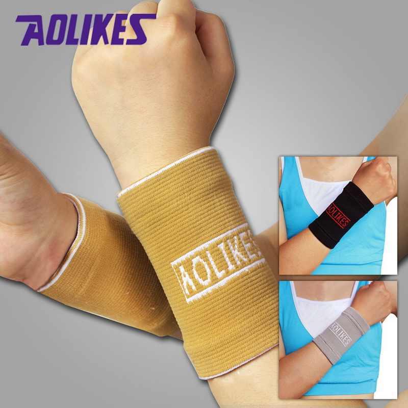 2 пары 11*8 см нейлоновый эластичный спортивный напульсник, браслеты для волейбола, баскетбола, теннисный зал Налобные повязки