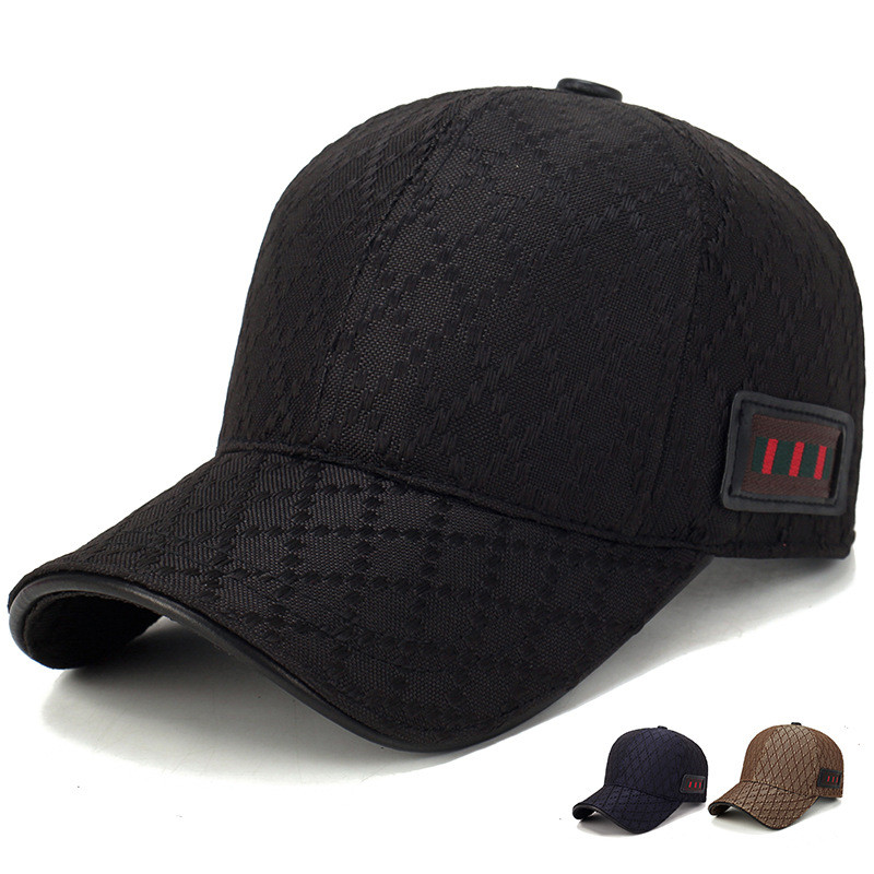 New Famous Brand Ball Hat Luxury Designer Retro   Baseball     Cap   with Decor Straps Best Quality Leisure   Cap   Pop Golf   Cap   Stripes Hat
