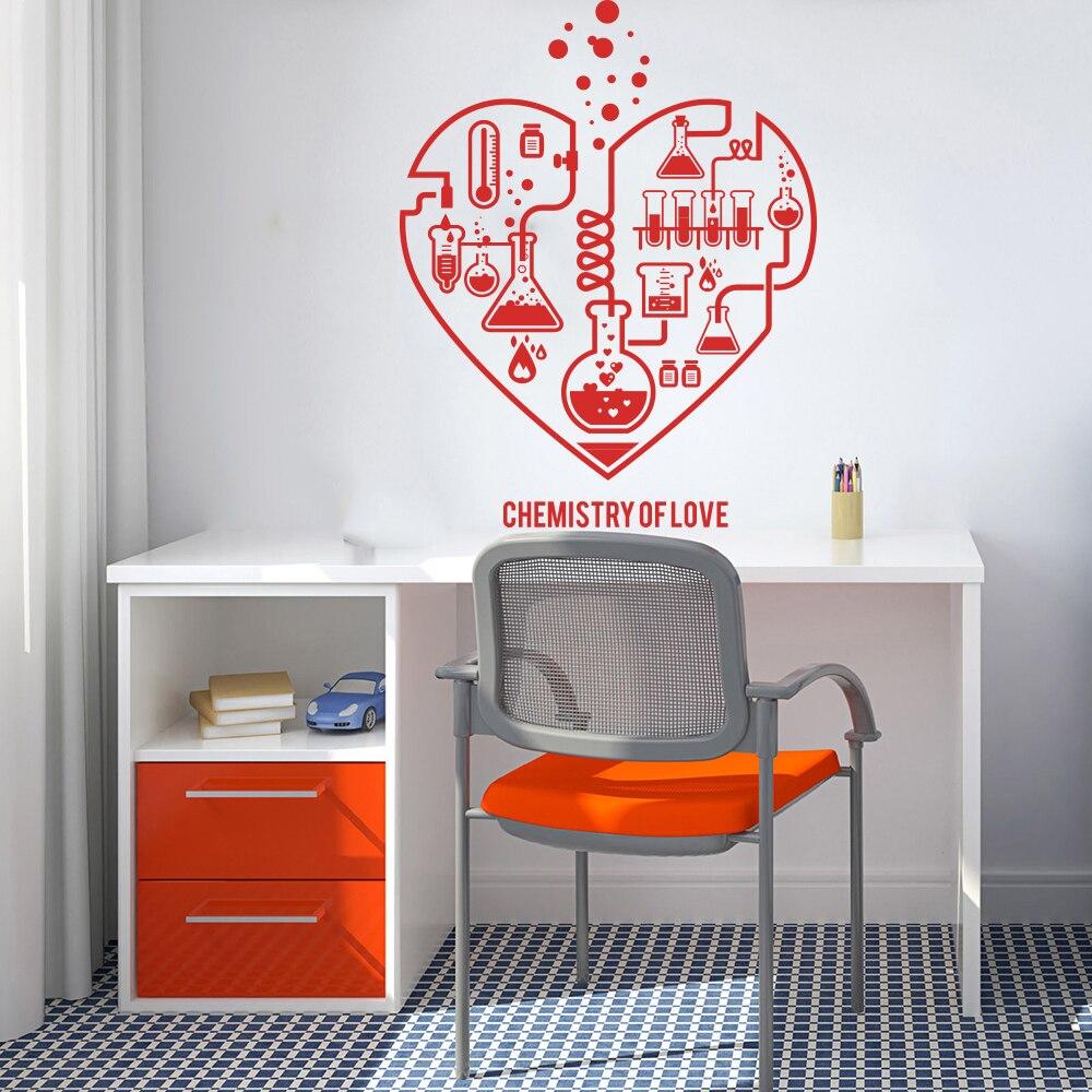 Love Hearts Sticker Wall Sticker decal wall sticker art decor inspirational w203