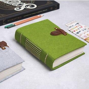 d2f0d6acddfc MaoTu журнал ручной работы Блокнот подарок винтажный толстый 320 страниц  без подкладки бумага 7x5