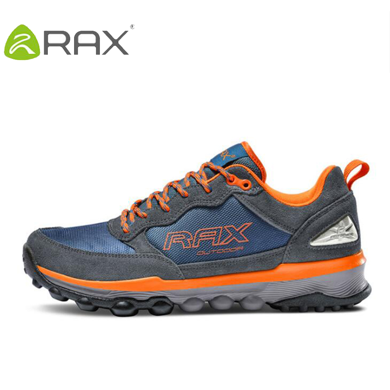 Rax Men Hiking Camping Shoes Breathable Outdoor Climbing Sneakers Outdoor Sports Shoes Cushion Sneakers For Men Brand Sneakers