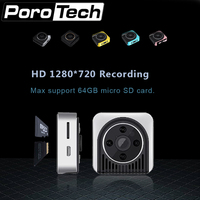 H5 5 PCS/lot Mini Wifi IP 720 P HD Corps P2P Caméra 4led LED lumières de Vision Nocturne Sans Fil Caméra D'alarme enregistrement