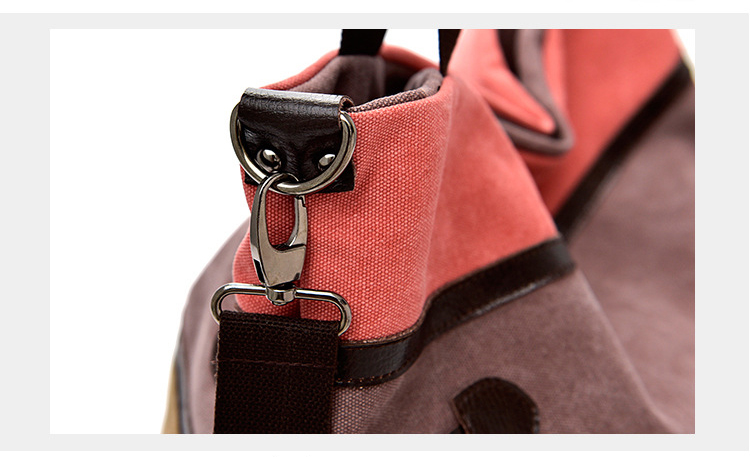 Saco de lona marca feminina bolsa de