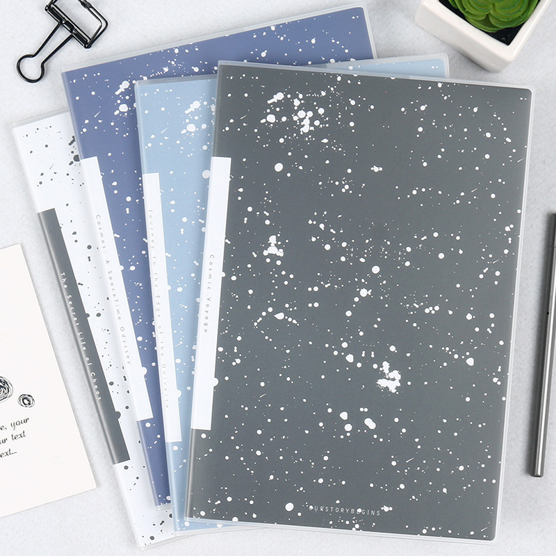 Creative Aesthetic Universe Star Notebook Diary Book B5 Notepad