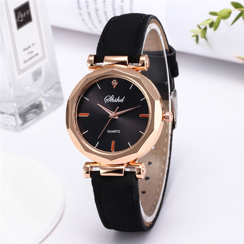 Duobla Watch Women Watches Luxury Leather Casual Watch Analog Quartz Crystal Wristwatch Relogio Feminino Reloj Mujer Gift New P#