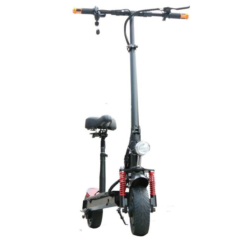 Scooter électrique de Longboard de Scooter électrique puissant de 350 W Mini Scooter électrique adulte Scooter électrique pliable de dérive Scooter léger - 2