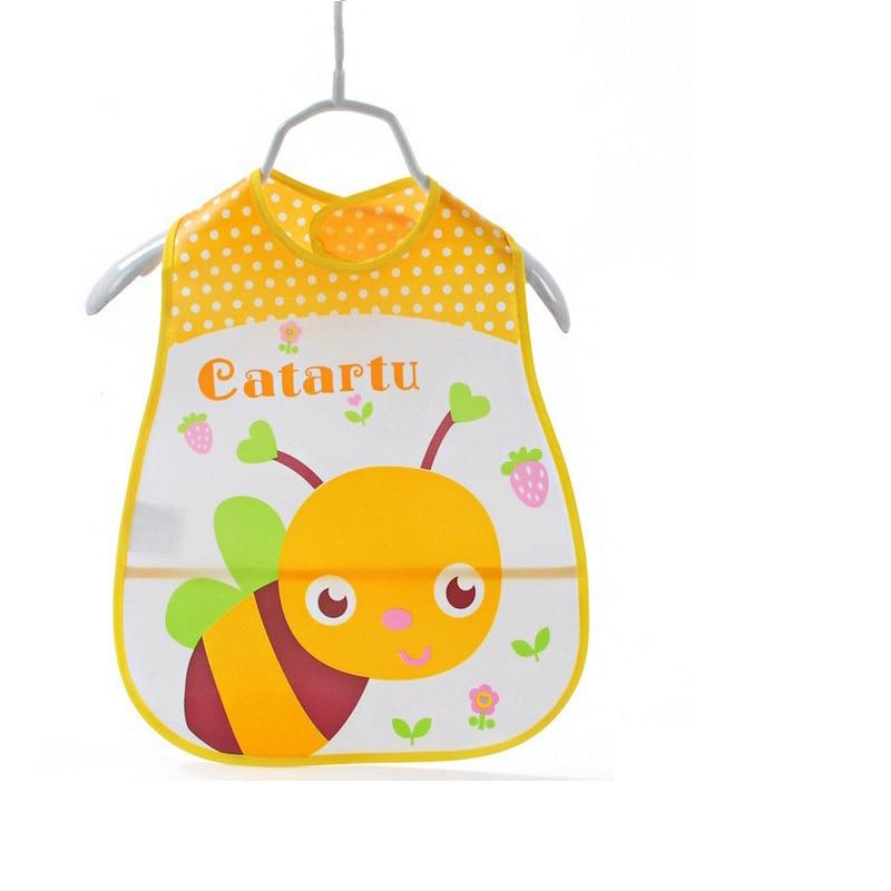 Babero de bebé de dibujos animados de Eva DreamShining, Bandanas impermeables para recién nacidos, babero para alimentar al bebé, paños para niñas, niños, babero, babero estampado