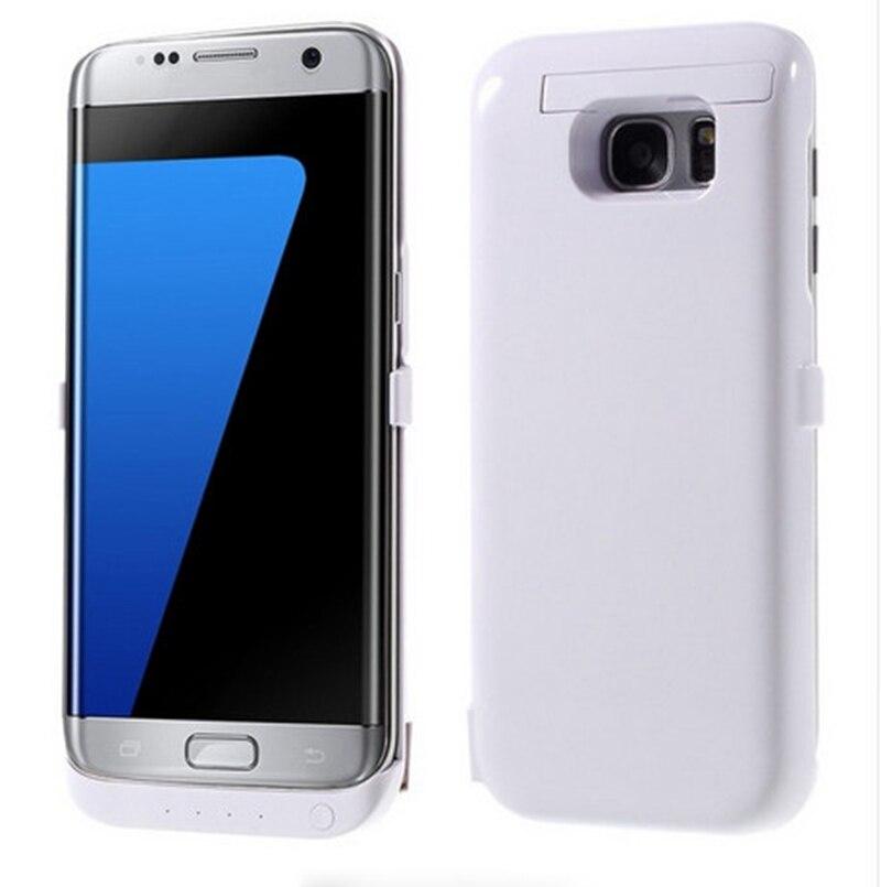 Caixa de bateria para Samsung Galaxy s7 G9300 G9308 Bateria Externa Caso Carregador para Samsung Galaxy S7 borda G9350 de Celular cobre