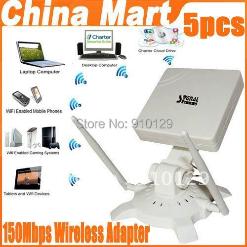 150Mbps Wireless n usb adapter wireless antenna wifi Signal King WiFi IEEE 802.11g/b/n 48DBI Antenna EXpress 5pcs