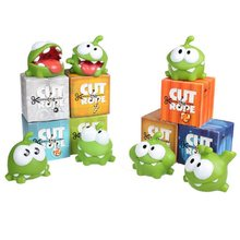Skyleshine – lot de 7 figurines de monstre Kawaii, 7cm, jouets authentiques Om Nom avec son, # ML253