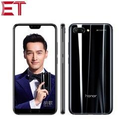 Перейти на Алиэкспресс и купить original brand new honor 10 4g lte mobile phone 5.84дюйм. 6gb ram 128gb rom kirin 970 octa core android 8.0 fingerprint recognition