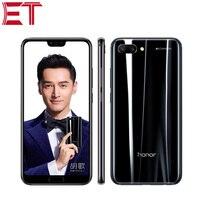 Original Brand New Honor 10 4G LTE Mobile Phone 5.84 6GB RAM 128GB ROM Kirin 970 Octa Core Android 8.0 Fingerprint Recognition