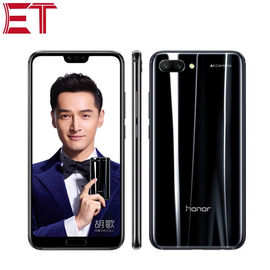 Téléphone portable Original Honor 10 4G LTE 5.84