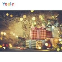 Yeele Christmas Photocall Bokeh Lights Gifts Party Photography Backdrops Personalized Photographic Backgrounds For Photo Studio
