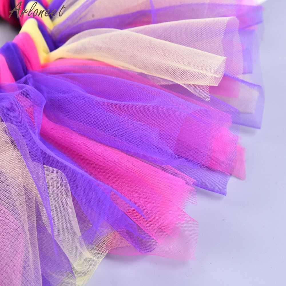 ARLONEET niñas niños disfraz baile Ballet Arco Iris infantil tutus gasa bebé tutú falda bebé niña faldas
