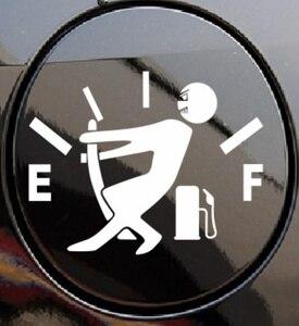 New Style car fuel tank cap sticker for Volkswagen VW Golf 5 6 7 JETTA PASSAT B5 B6 B7 B8 MK4 MK5 MK6 Tiguan Beetle Polo Bora(China)