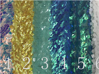 2018  New pattern 5yards  ST328#  6colors  good quality   sequin tulle mesh lace fabric for bridal wedding dress/sawing