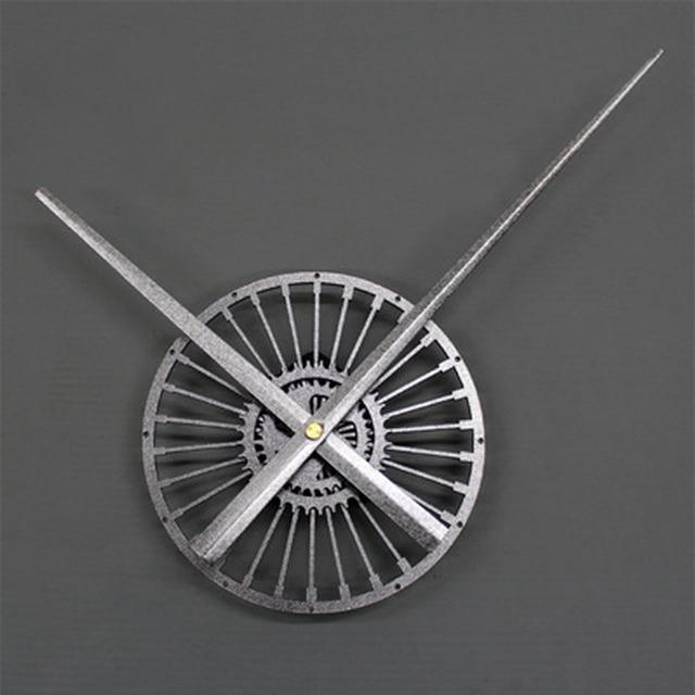 Extra Large Wall Clock Modern Design Big Pointer Vintage Retro Style