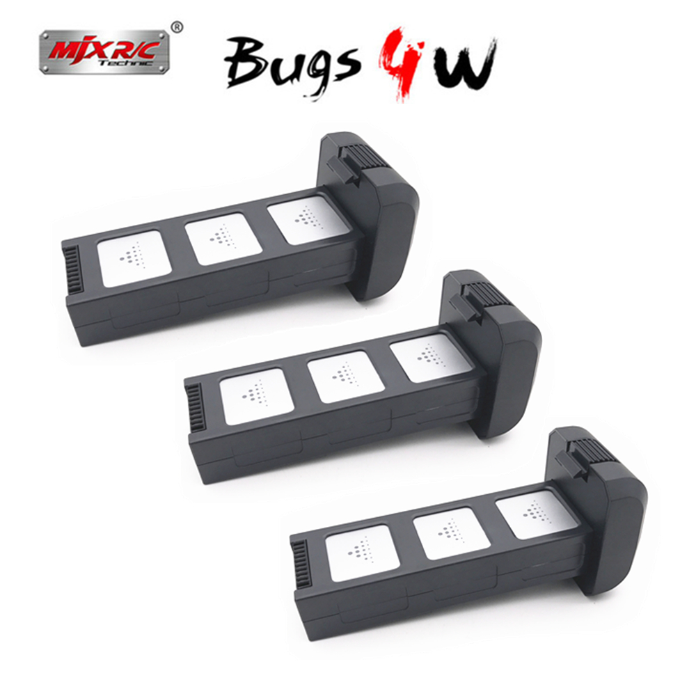 Original Mjx Bugs 4W B4W Parts 7.6v 3400 Mah Li-po Battery For Mjx B4W Accessories Brushless Gps Rc Drone Spare Parts Battery