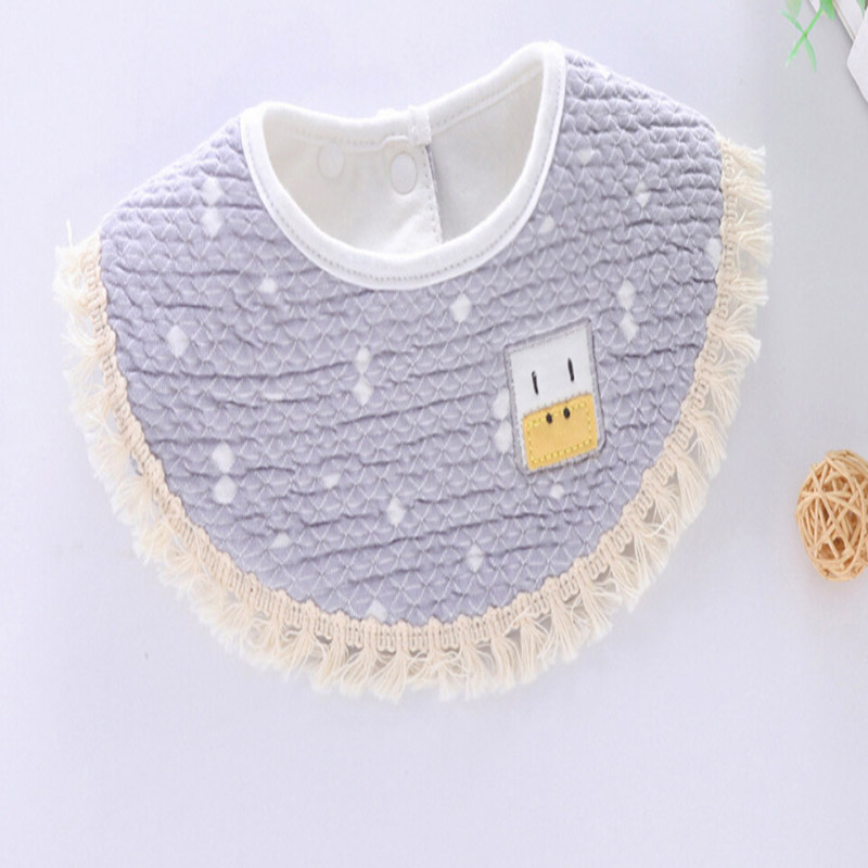 Best Sale Baby Bibs Saliva Towel European Lace Bibs Burp Cloth Cotton Scarf Infant Bandana Baby Clothing Accessory Bib(China)