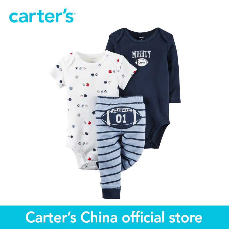Carter s 3 pcs baby children kids Little Character Set 126G346 sold by Carter s China