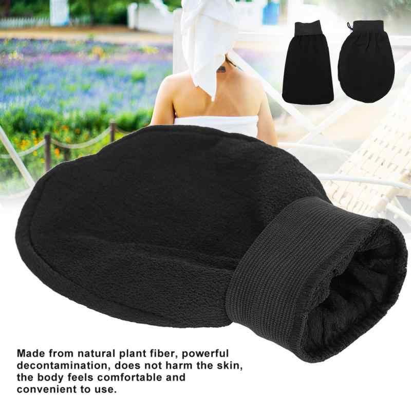 1 шт. перчатки для душа и ванной мягкая перчатка для мытья кожи Спа Массаж Уход за телом скруббер Уход за кожей для удаления отшелушивающей кожи