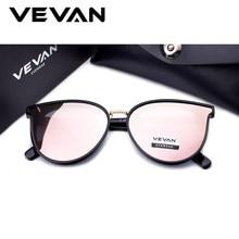 1b381b6f23 VEVAN 2018 alta calidad del ojo de gato gafas de sol polarizadas mujeres  UV400 Sunglass espejo